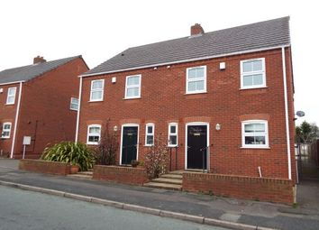 Thumbnail 3 bed semi-detached house to rent in Cross Street, Burntwood