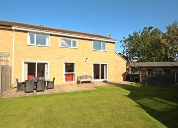 Thumbnail 4 bed semi-detached house for sale in Laxton Avenue, Hardwick, Cambridge
