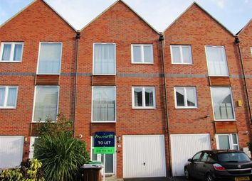 Thumbnail 3 bed town house to rent in Caxton Road, Carrington Point, Nottingham