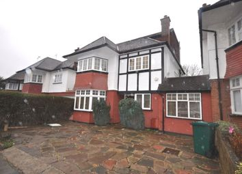 Thumbnail 4 bedroom detached house to rent in Haslemere Avenue, London