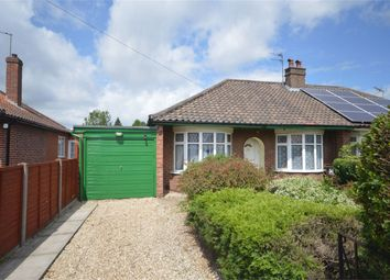 Thumbnail 2 bedroom semi-detached bungalow for sale in Alford Grove, Sprowston, Norwich