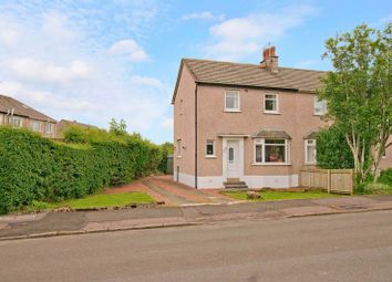 Thumbnail 2 bed semi-detached house for sale in Craighlaw Avenue, Eaglesham, Glasgow