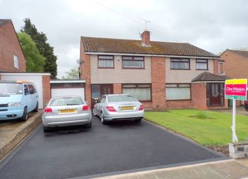 Thumbnail 3 bed semi-detached house to rent in Sunningdale Drive, Bromborough, Wirral