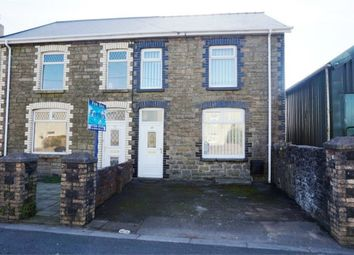 Thumbnail 3 bed semi-detached house for sale in Cefn Road, Cefn Cribbwr, Bridgend
