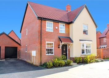 Thumbnail 4 bed detached house for sale in Foxes Close, Poringland, Norwich, Norfolk
