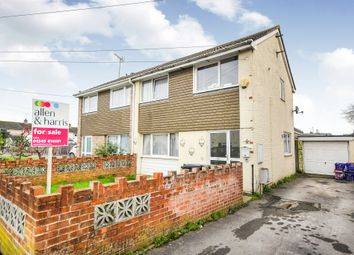 Thumbnail 4 bed semi-detached house for sale in Ridgemead, Calne