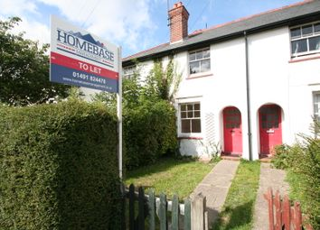 Thumbnail 2 bed terraced house to rent in Wallingford Road, Cholsey