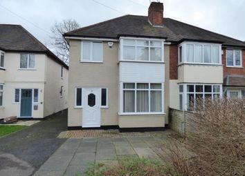 Thumbnail 3 bedroom semi-detached house for sale in Troy Grove, Kings Heath, Birmingham, West Midlands