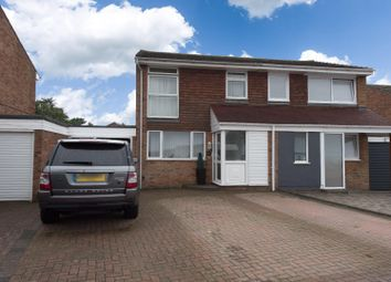 Thumbnail 3 bed semi-detached house for sale in Cranleigh Drive, Whitfield, Dover
