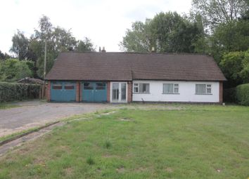Thumbnail 3 bed detached bungalow for sale in Leicester Lane, Desford, Leicester