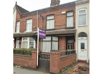 Thumbnail 2 bed terraced house for sale in Gresty Road, Crewe