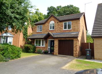Thumbnail 4 bedroom detached house for sale in Rowell Way, Oundle
