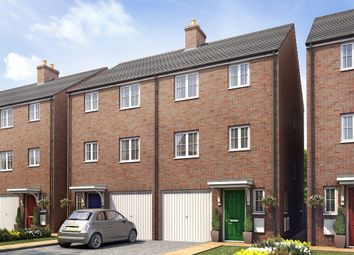 "Thumbnail 4 bed town house for sale in ""The Edward"" at Scotts Road, Ware"