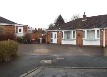 Thumbnail 4 bedroom bungalow for sale in Denstone Crescent, Harwood, Bolton, Greater Manchester