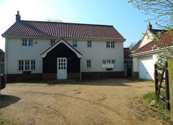 Thumbnail 4 bed detached house for sale in Coronation Terrace, Attleborough Road, Caston, Attleborough