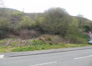 Thumbnail Land for sale in Ynyshir Road, Ynyshir, Porth