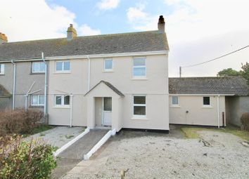 Thumbnail 3 bed semi-detached house for sale in Clifden Close, Mullion, Helston