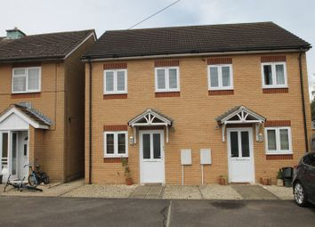 Thumbnail 2 bed semi-detached house for sale in Holmlea, Wookey, Wells