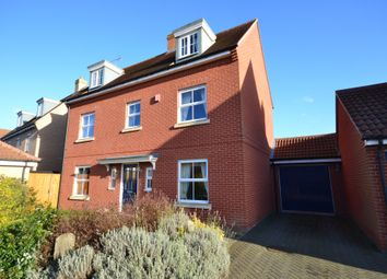 Thumbnail 4 bed detached house to rent in John Hammond Close, Colchester