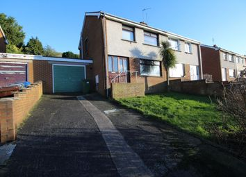 Thumbnail 3 bed semi-detached house for sale in Loverock Way, Bangor