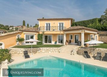 Thumbnail 4 bed villa for sale in Plascassier, Grasse, French Riviera