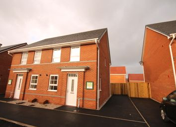 Thumbnail 3 bed semi-detached house to rent in Horseshoe Drive, Buckshaw Village, Chorley