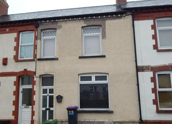 Thumbnail 3 bed terraced house to rent in Belle Vue Road, Cwmbran