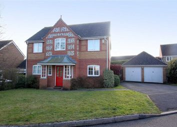 Thumbnail 4 bed detached house to rent in Wansey Gardens, Newbury