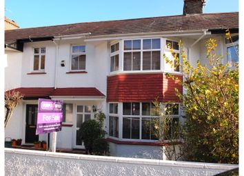 Thumbnail 3 bed terraced house for sale in Eastbourne Grove, Sketty