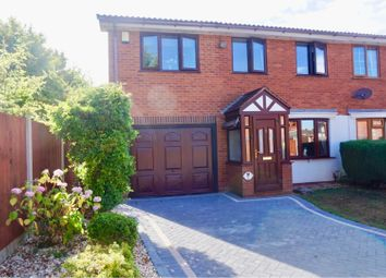 Thumbnail 3 bedroom semi-detached house for sale in Woodrush Heath, Telford