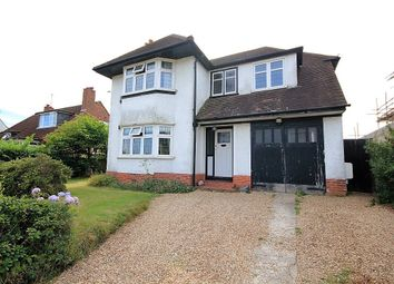 Thumbnail 3 bed detached house for sale in Upper Woodcote Road, Caversham Heights, Reading