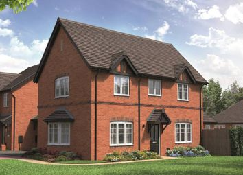 "Thumbnail 3 bed link-detached house for sale in ""The Hurwick"" at School Road, Salford Priors, Evesham"