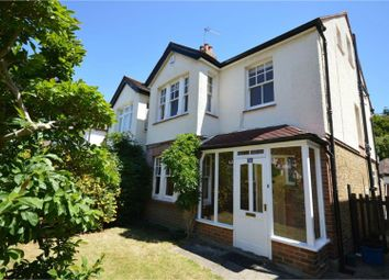 Thumbnail 4 bed semi-detached house to rent in Marksbury Avenue, Richmond, Kew