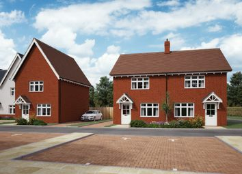 Thumbnail 2 bed semi-detached house for sale in Blackwell Close, Swindon