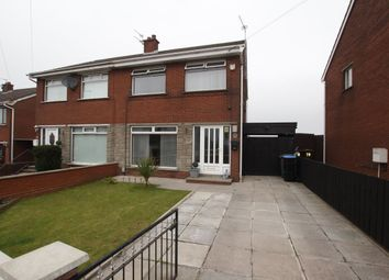 Thumbnail 3 bed semi-detached house for sale in Burnthill Gardens, Newtownabbey