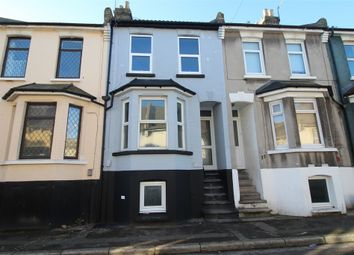 Thumbnail 3 bed terraced house for sale in Ernest Road, Chatham, Kent.