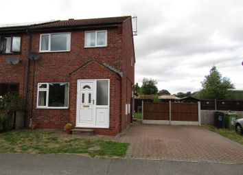Thumbnail 3 bedroom semi-detached house for sale in Pingle Close, Gainsborough