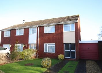 Thumbnail Semi-detached house for sale in Hardings Close, North Petherton, Bridgwater
