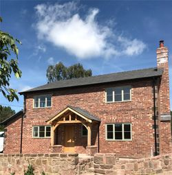 Thumbnail 4 bedroom detached house for sale in Brooms Lane, Kelsall, Tarporley, Cheshire