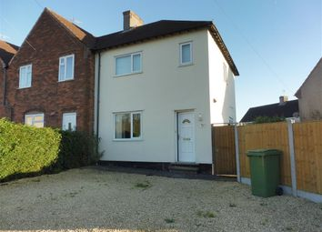 Thumbnail 2 bed semi-detached house to rent in Cull Avenue, Stafford