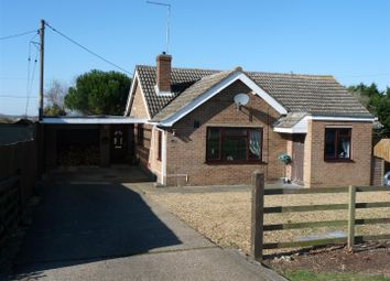 Thumbnail 4 bed detached bungalow for sale in Herne Road, Ramsey, Huntingdon
