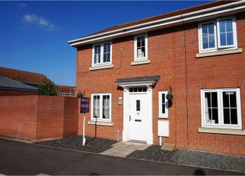 Thumbnail 3 bed town house for sale in Taurus Avenue, North Hykeham