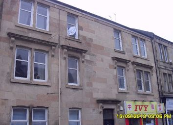 Thumbnail 1 bedroom flat to rent in Glasgow Road, Paisley, Renfrewshire