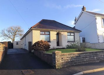Thumbnail 3 bed detached bungalow for sale in Heol Y Dre, Cefneithin, Llanelli