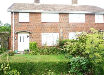 Thumbnail 3 bed semi-detached house to rent in Hare Lane, Langley Green, Crawley