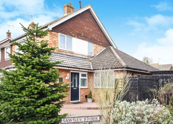 Thumbnail 3 Bedroom Semi Detached House For Sale In Sawney Brook, Writtle,  Chelmsford