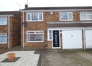 Thumbnail 4 bed semi-detached house for sale in Glebe Mews, Bedlington