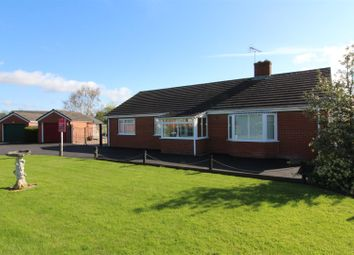 Thumbnail 3 bed detached bungalow for sale in Leigh Meadows, Four Crosses, Llanymynech