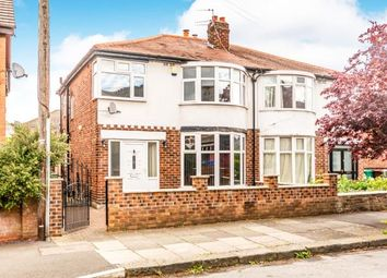 Thumbnail 3 bedroom semi-detached house for sale in Newport Road, Chorlton, Manchester, Greater Manchester