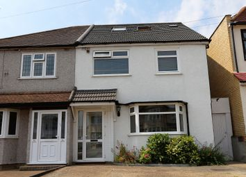 Thumbnail 5 bed semi-detached house to rent in Chalgrove Crescent, Ilford, Essex